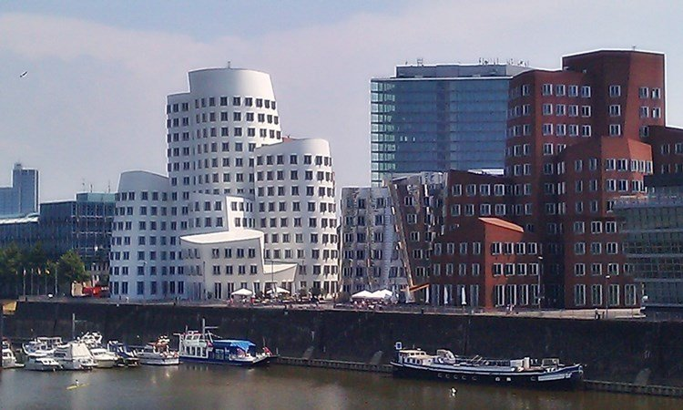 Der Medienhafen in Düsseldorf 4