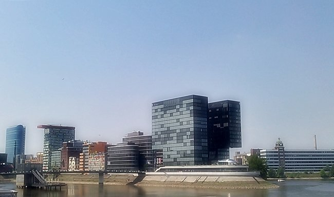 Der Medienhafen in Düsseldorf 11