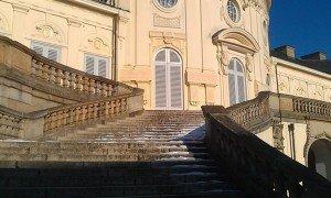 Schloss Solitude - Hauptaufgang zur Aussichtsterrasse