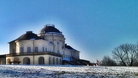 Schloss Solitude, Herzog Carl Eugen und die Schlittenfahrt