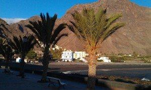 Valle Gran Rey - Blick auf La Playa mit der Bar Maria