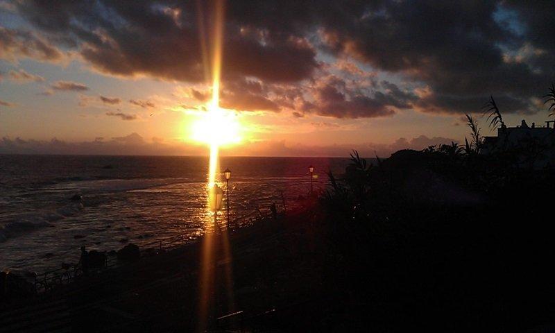 Valle Gran Rey auf La Gomera - Sonnenuntergang