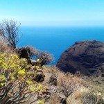 Blick auf den Atlantik vor La Gomera 2