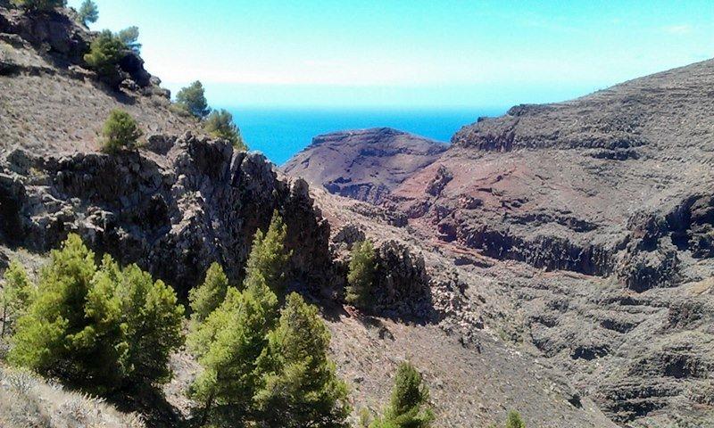 Felsen, Berge, Schluchten: auf La Gomera wandern 2