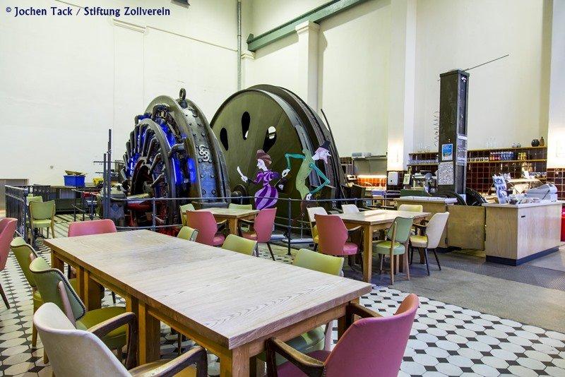 Das Café Zollverein am Erfahrungsfeld