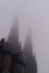 Kölner Dom mit Doppelspitze