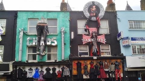 London, Camden Town und Amy Winehouse