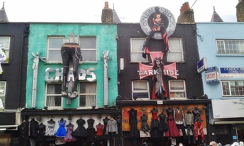 London Camden Town - Trashig coole Shops