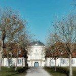 Schloss Solitude - Rückansicht