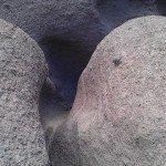 Steinformation in der Barranco de Argaga