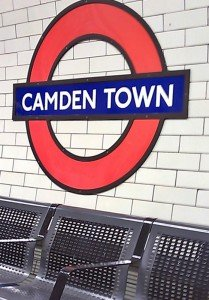 Subway nach Camden Town