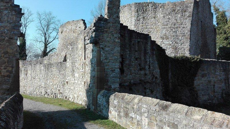 Burgruine Nippenburg - von der Ritterburg zum Steinbruch