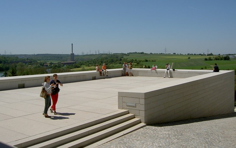 Literaturmuseum der Moderne in Marbach - Aussicht auf die Umgebung