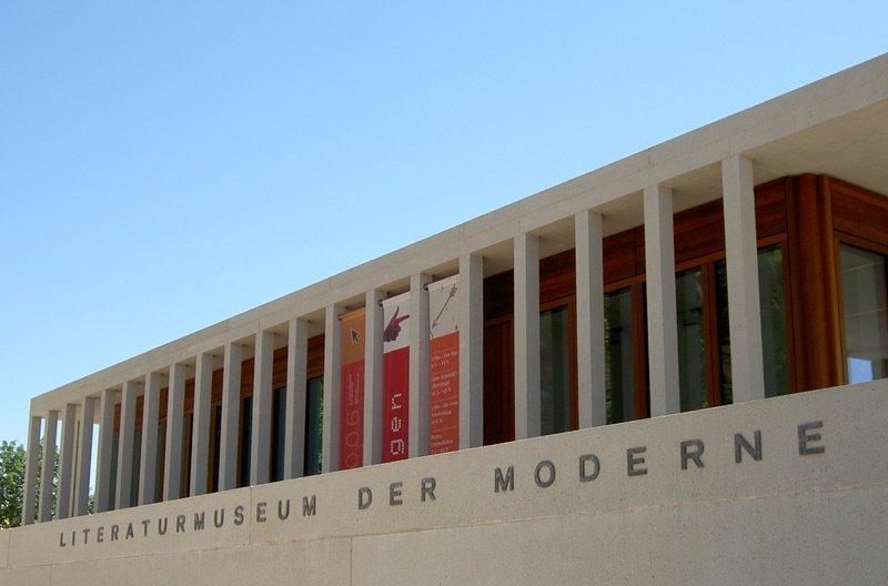 Literaturmuseum der Moderne in Marbach - Seitenansicht