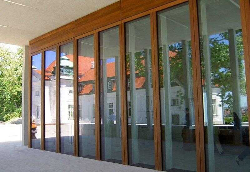 Das Schiller Nationalmuseum im Spiegelbild