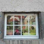 Schloss Nippenburg - Fensterspiegelung