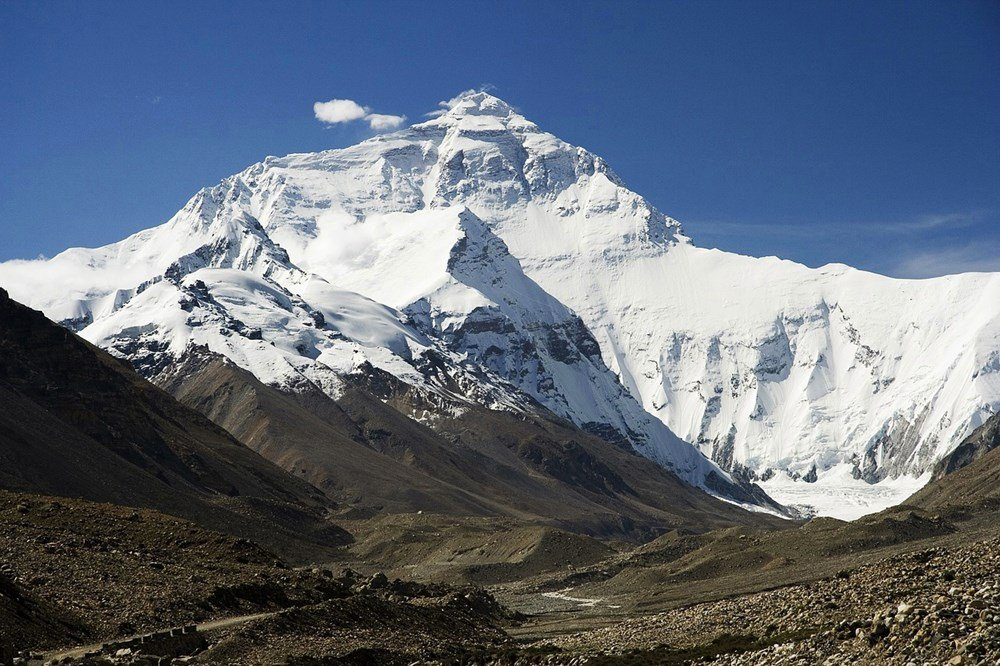 Mount Everest im Himalaja