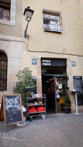 Pizza Paco in Barcelona
