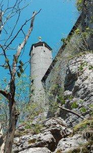 Burg Teck bei Owen - Der Aussichtsturm