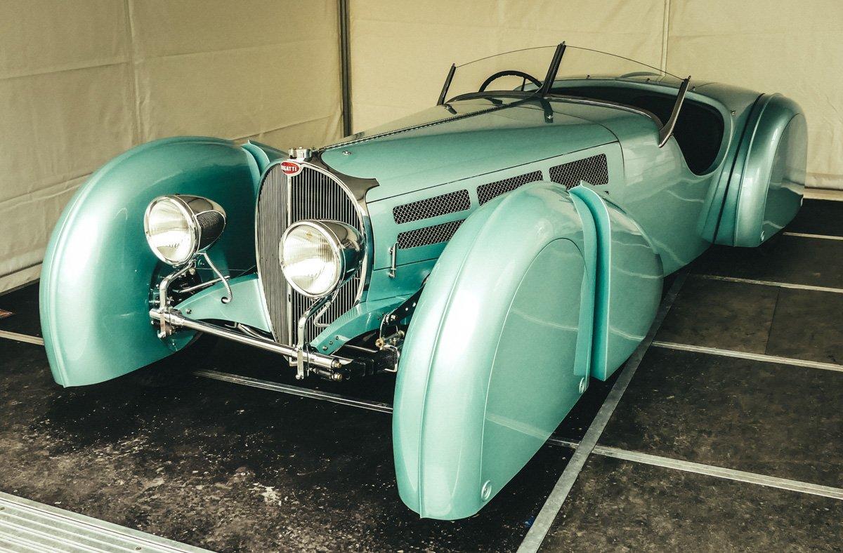 Retro Classics meets Barock in Ludwigsburg- der Jean Bugatti T 57 S (1 von 1)