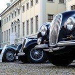 Retro Classics meets barock - Oldtimerreihe im Residenzschloss Ludwigsburg