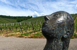 Skulpturenpfad Strümpfelbach - Blick in den Himmel