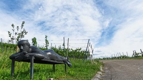 Der Skulpturenpfad in Strümpfelbach bei Weinstadt