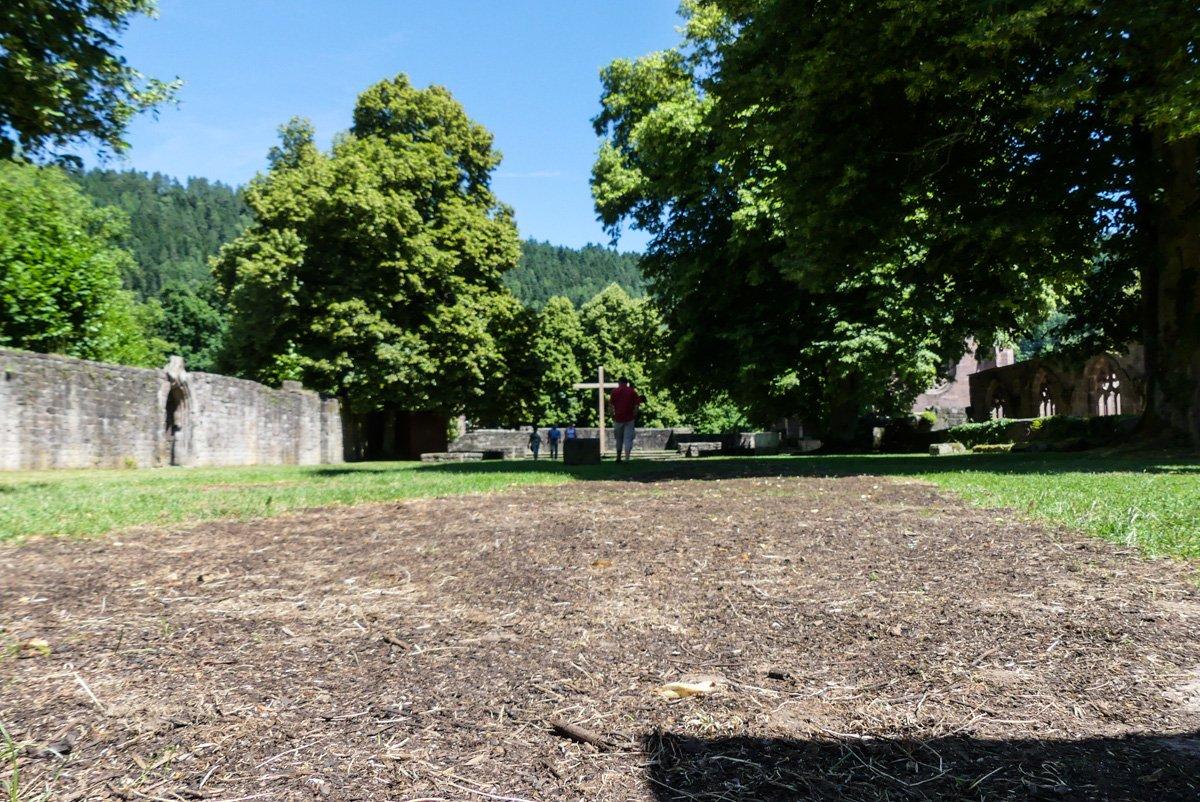 Kloster Hirsau - Grundmauern der ehemaligen Kirche St. Peter und Paul