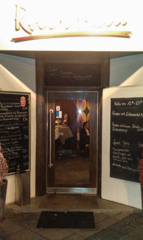 Das Restaurant Rheinau in Köln: Süßer Laden mit richtig guter Küche