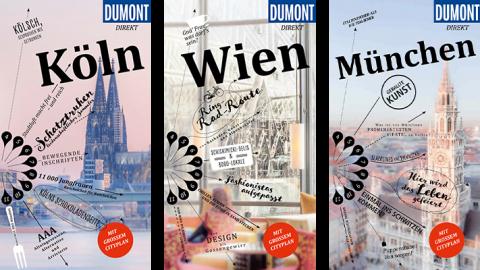 Smarter Lesestoff für unterwegs: die neuen Reiseführer DuMONT direkt
