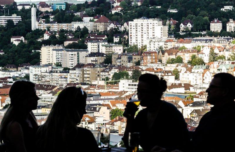 Stuttgart von oben Top 10 - Blick von der Karlshöhe-1
