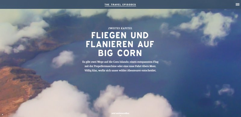 Travel Episodes - Beitrag - Fliegen und flanieren auf Big Corn-1
