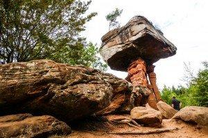 Sensationelles Naturwunder: Der Teufelstisch in Hinterweidenthal