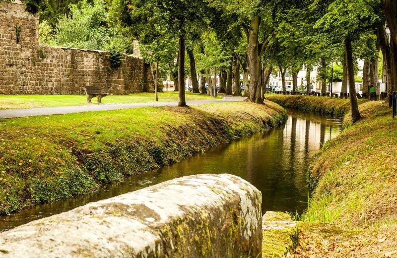Wissembourg - Frankreich Elsass - Postkartenidylle an der Lauter