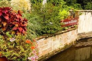 In idyllischer Lage: das Restaurant Caveau du Châtelet in Wissembourg
