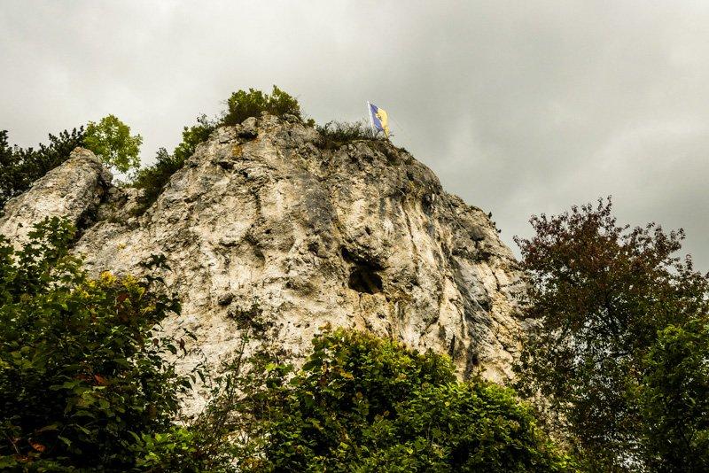 Blautopf in Blaubeuren - den Blaufels im Visier