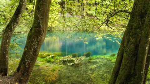 Der Blautopf in Blaubeuren: die Magie der Natur als Blaupause