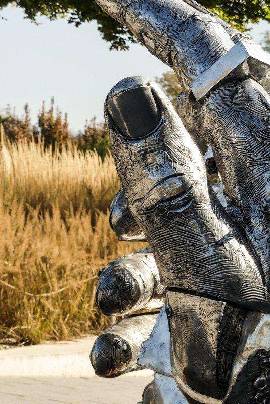 Wanderweg am Bodensee von Nonnenhorn bis Lindau - Skulpturenkunst von Gunther Stilling