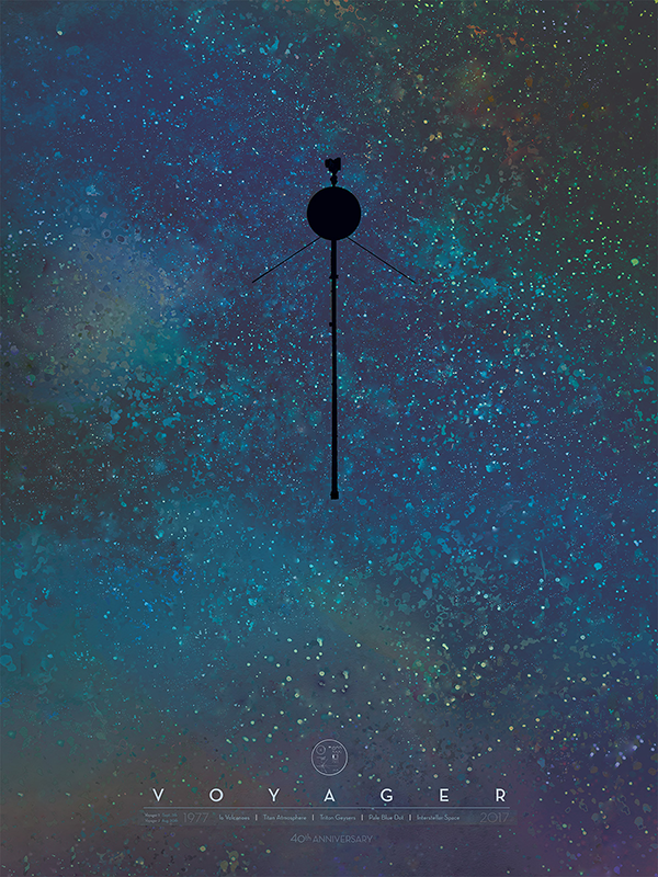 Voyager Poster Silvester 2017