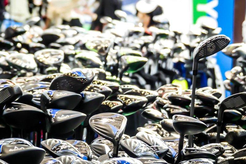 CMT 2018 - Golfschläger im Großrudel