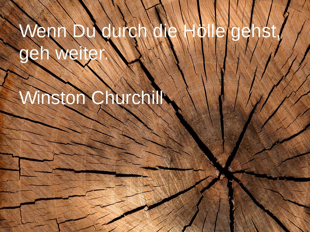 Reisezitate 2017 - Winston Churchill
