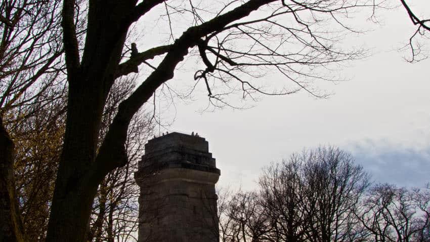 Bismarckturm in Stuttgart - ja, man darf hoch - wenn er geöffnet ist