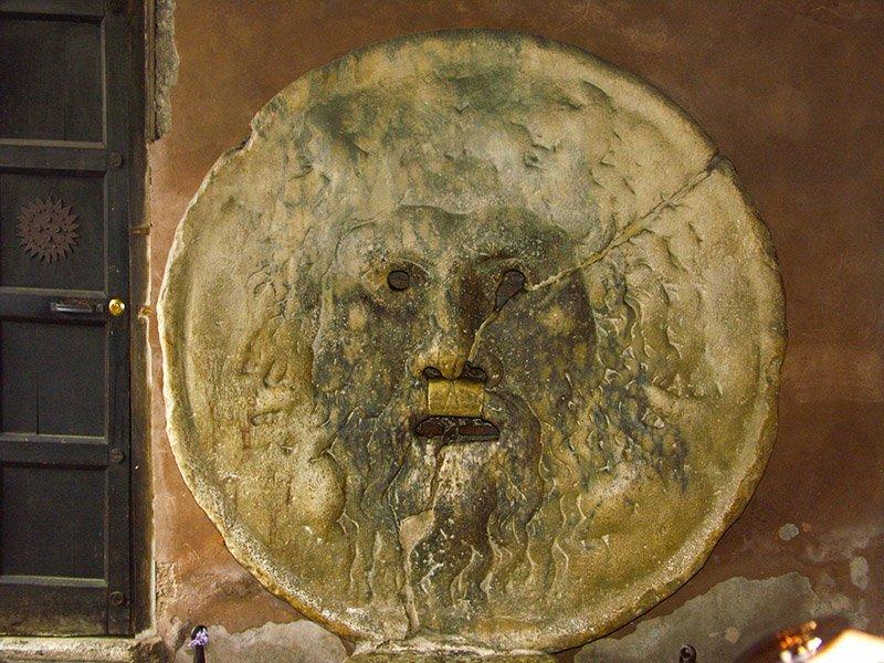 Boccia della Veritas - eine Legende in Rom