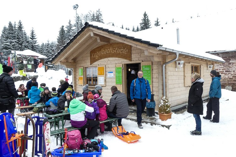 Das Hochmoor Kaltenbronn - das Kegelbachstüble am Skilift-1-2