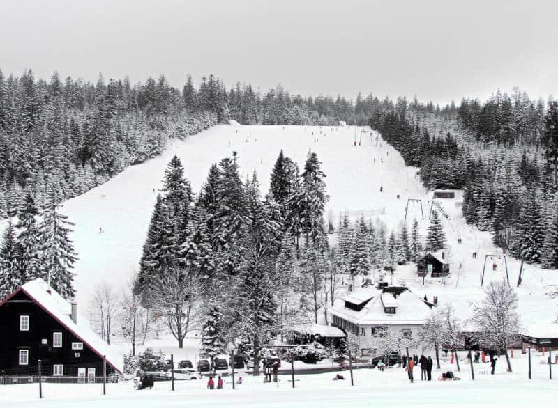Hochmoor Kaltenbronn - der Skilift