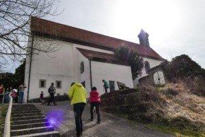 Die Wurmlinger Kapelle: beliebtes Ausflugsziel bei Rottenburg am Neckar