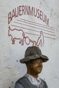 Informativ: das Bauernmuseum in Glatt direkt am Wasserschloss