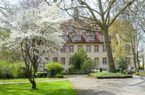 Schön anzuschauen: das Wasserschloss in Flehingen