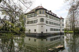 Mit kulturellen Highlights: das Wasserschloss in Bad Rappenau