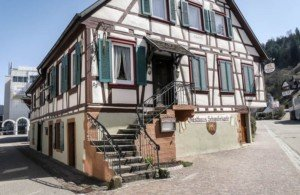 """Aus der Rubrik """"es war einmal"""": der Gasthof Schwobekarle in Schiltach"""